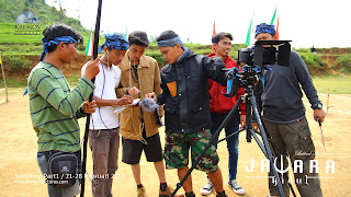 Behind The Scene Jawara Kidul (2015)