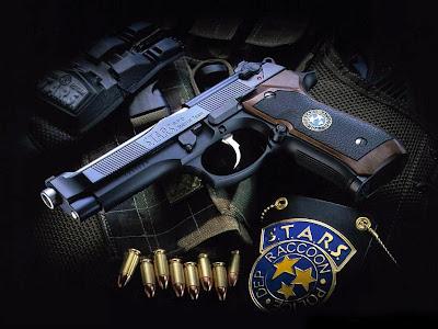 POLICE DEP RACCOON - Weapon Guns Wallpaper