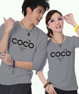 Model baju Couple Lengan Panjang