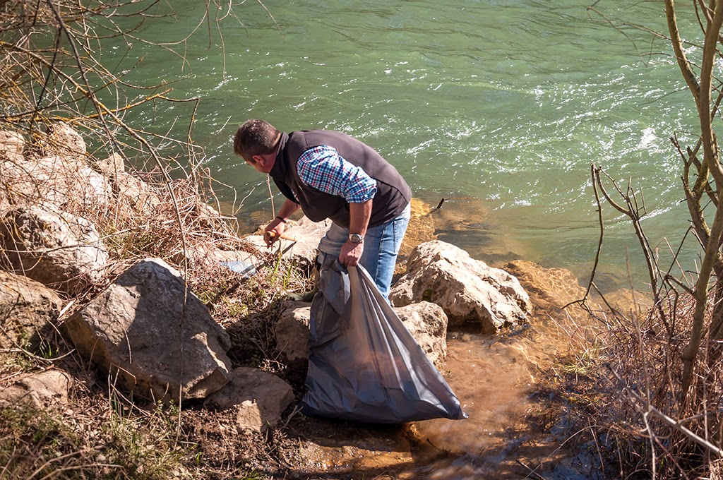 """El C.D. de Pesca """"Río Porma"""" ha realizado la limpieza de ..."""