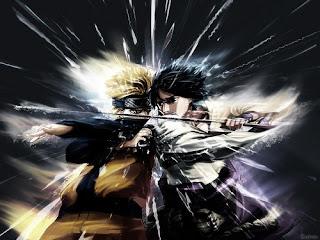 Naruto pelea espadas