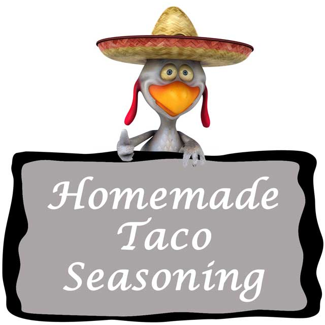 Homemade Taco Seasoning from 101 Cooking For Two