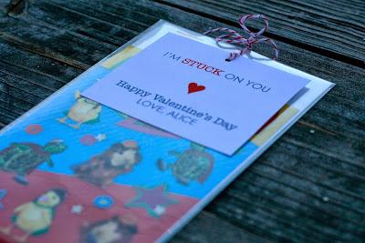 DIY Valentines - stickers