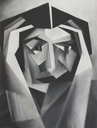 Heddi Lamar Pastel 2009. 42x56cm
