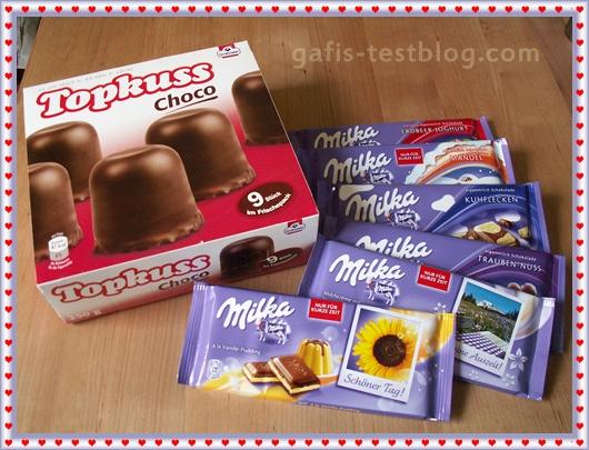 Süßigkeiten zum Valentinstag
