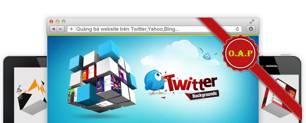 Quảng bá website trên twitter