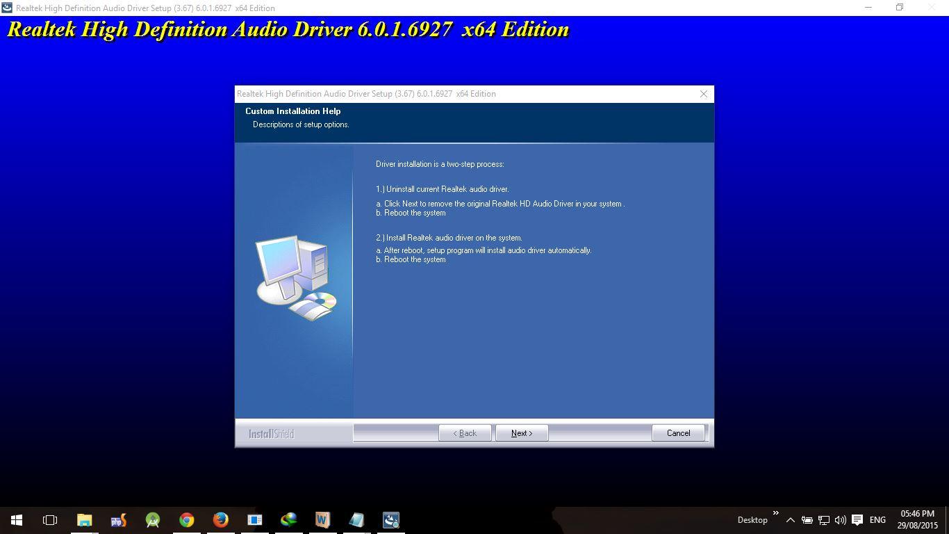 Restart Audio Driver Windows 10