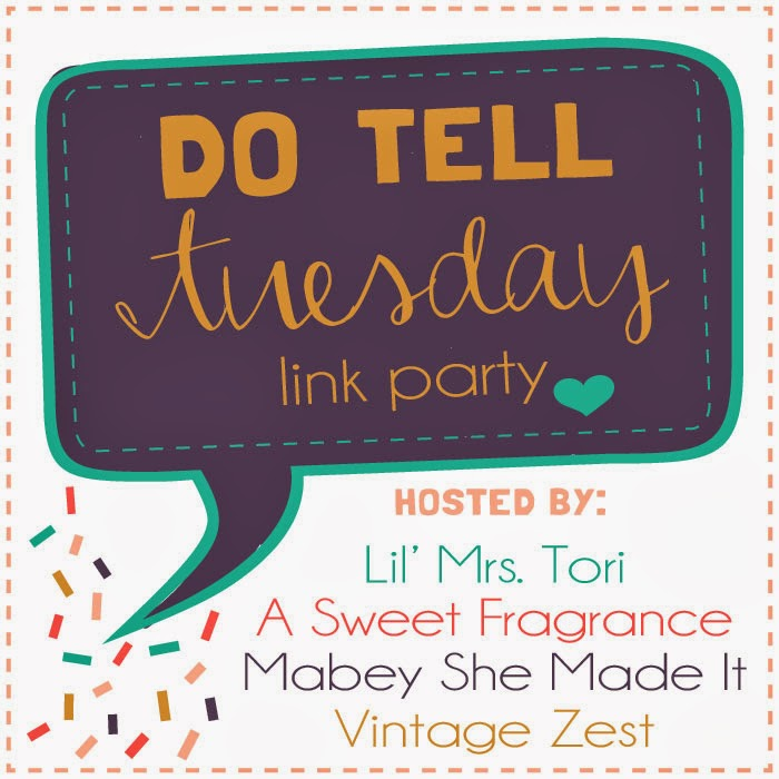 Do Tell Tuesday #20 on Diane's Vintage Zest!