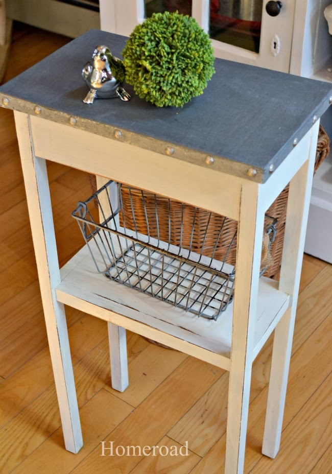 Homeroad Painted Galvanized Table Top