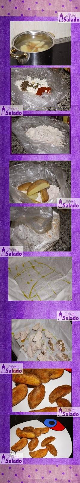 como hacer patatas con especies