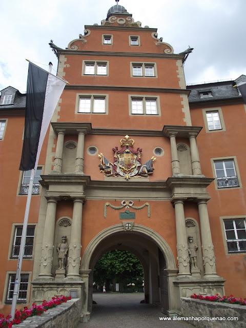 Castelo dos Cavaleiros da Ordem Teutônica, em Bad Mergentheim