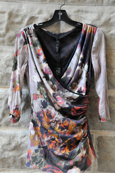 Monet cross over blouse.$128