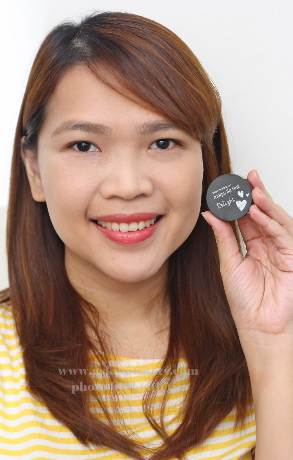 Askmewhats Top Beauty Blogger Philippines Skincare Makeup Review Tony Moly Delight Liptint Mini Magic Lip Tint In Red Berry