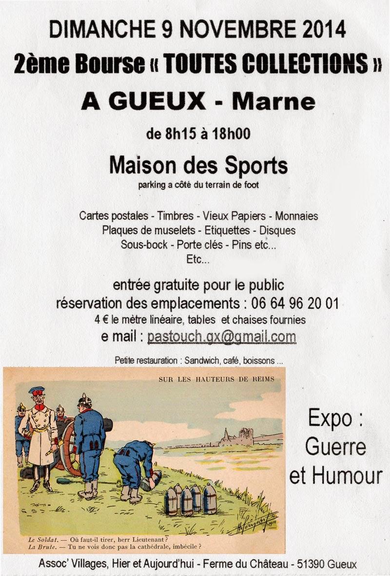 Bourse GUEUX 2014