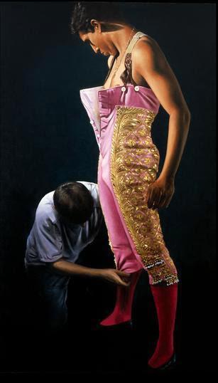 Christian Gaillard Figurative Painter 1951 Fine Art