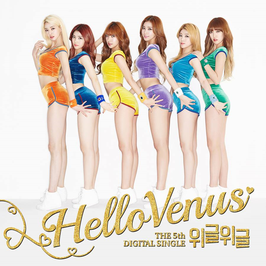 Hello Venus Korean Girl Group