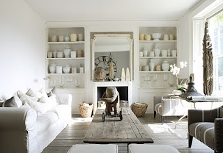 white&vintageflair: Hamptons Style Lounge Rooms