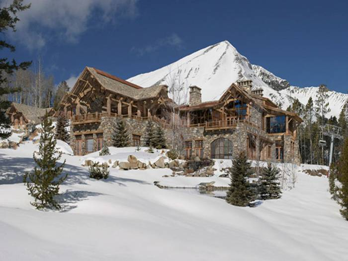 Top 10 most expensive house building in the world for Cost of building a house in montana