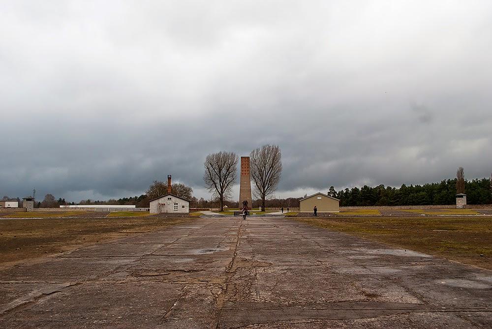 Sachenhausen concentration camp main area