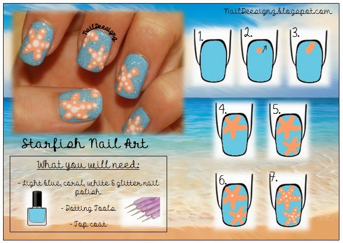 http://www.naildeesignz.blogspot.co.uk/2013/07/starfish-nails.html
