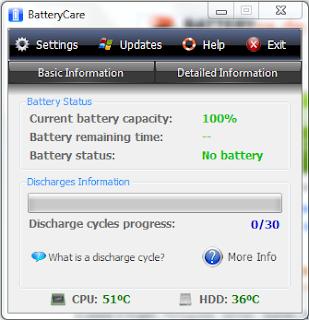 cara menghemat battrey dengan Battery care