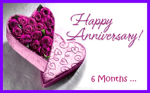 V2r1 i love you happy 6th month anniversary