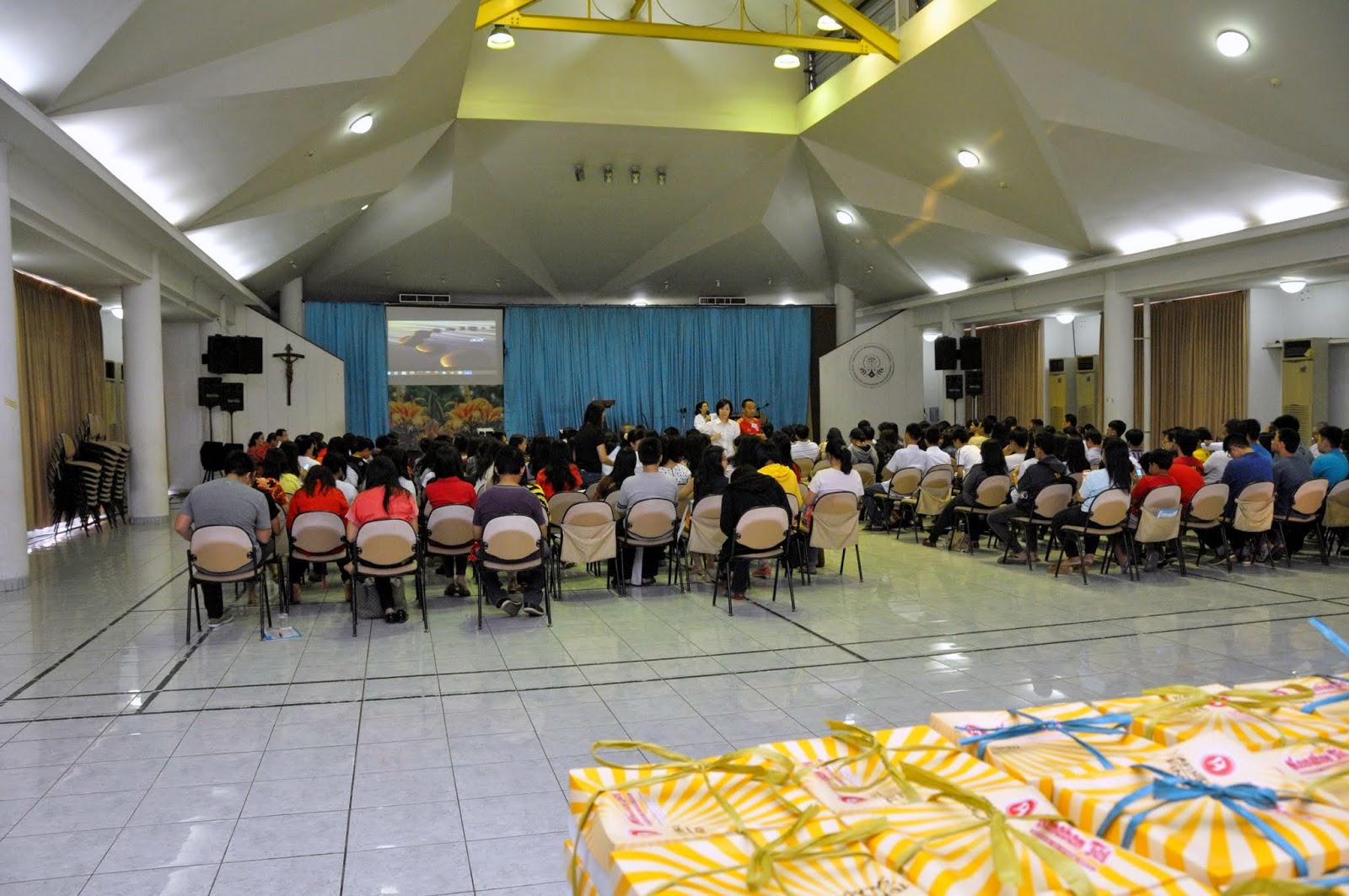 Rekoleksi Sakramen Penguatan - 30 Agustus 2014