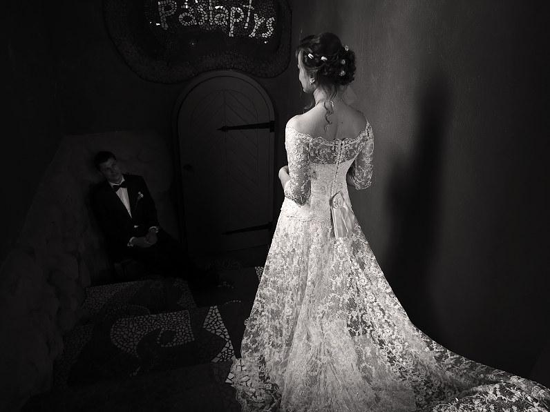 vintažinė nuotakos suknelė