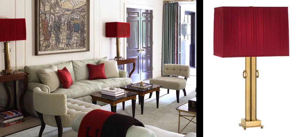 INTERIOR DESIGN: Table Lamps From Interior Designer Mary McDonald