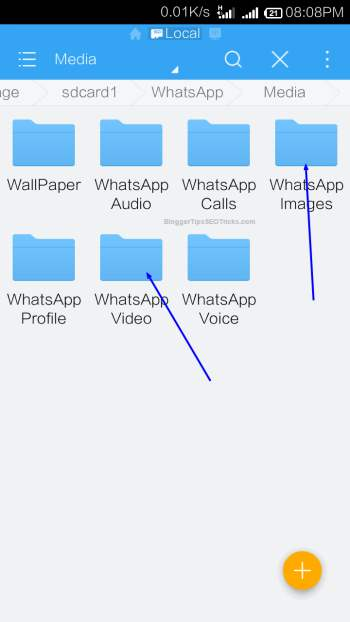 hiding whatsapp photos in android n iphone