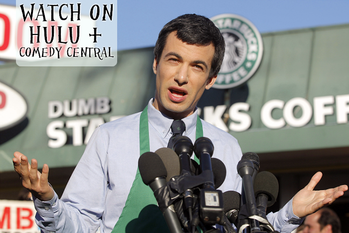 What I'm Streaming: Nathan For You on Comedy Central or Hulu