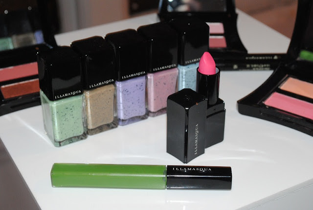 illamasqua+lipstick+immodest+lipgloss+leaf+green+i'mperfection