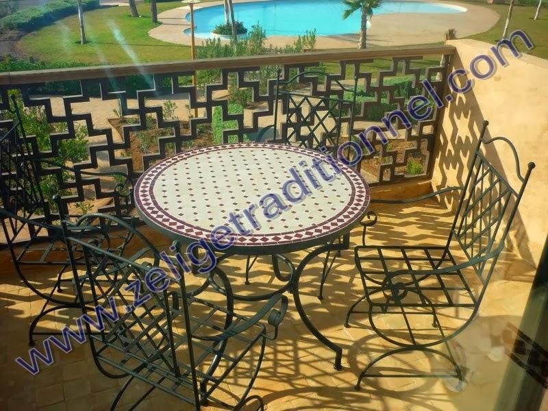 Stunning Table De Jardin Ronde Gamm Vert Pictures