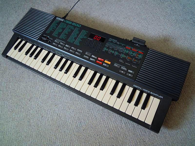 Matrixsynth yamaha vss 200 sampling keyboard for Yamaha portatone keyboard