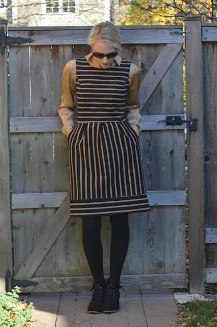 Transition Fashion for Fall: Stripes