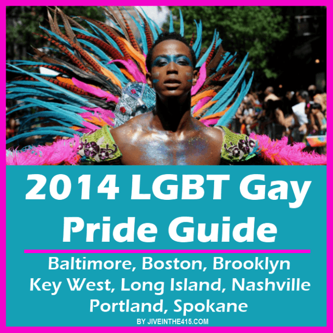 LGBT Gay Pride Guide 2014 Part 2 - June 13th through June 15th 2014