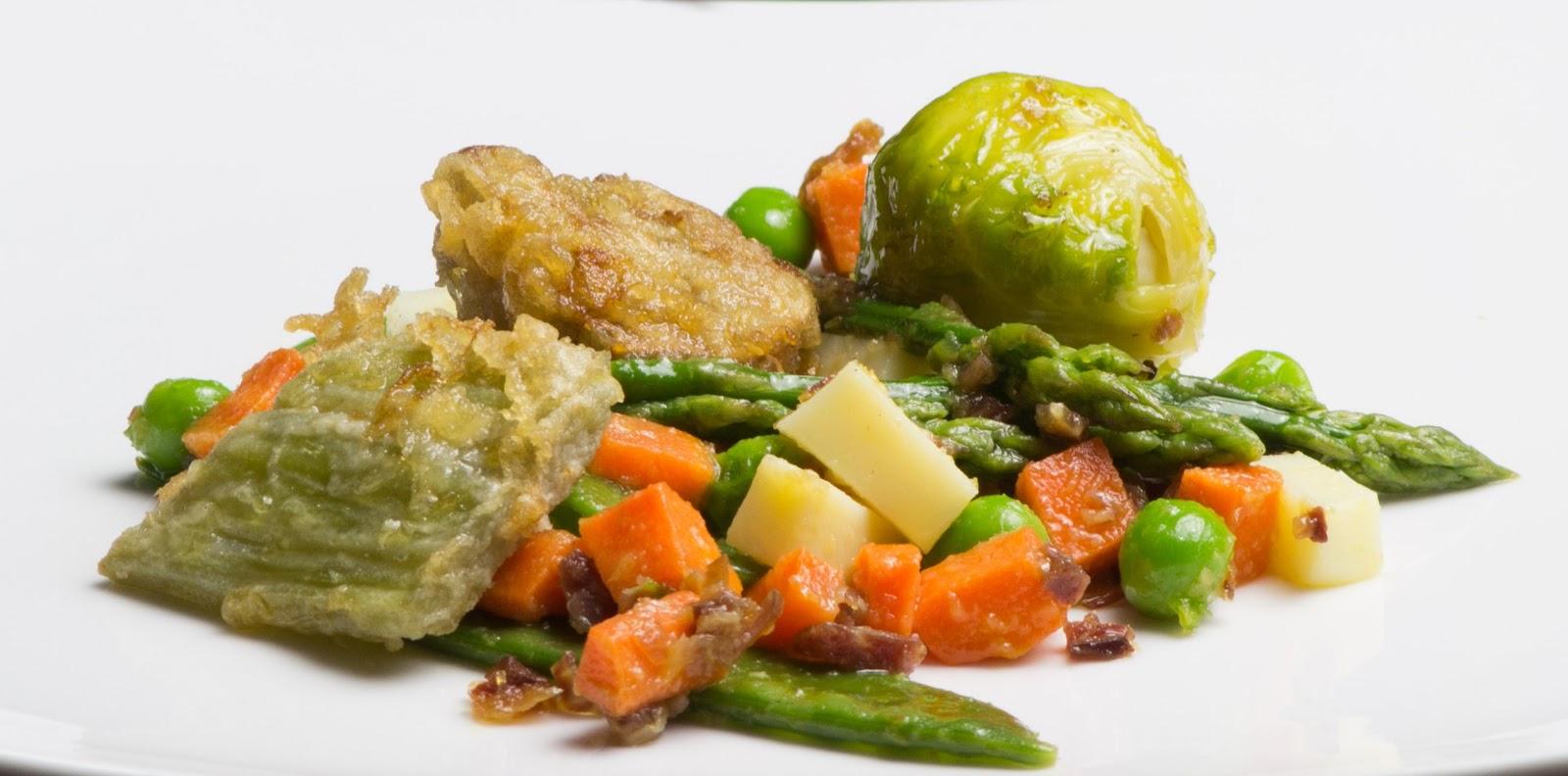 Las cosas de c sima menestra de verduras - Menestra de verduras en texturas ...