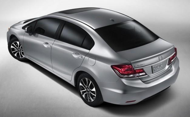 Novo Honda Civic 2013 vai estrear em LA Auto Show 2012
