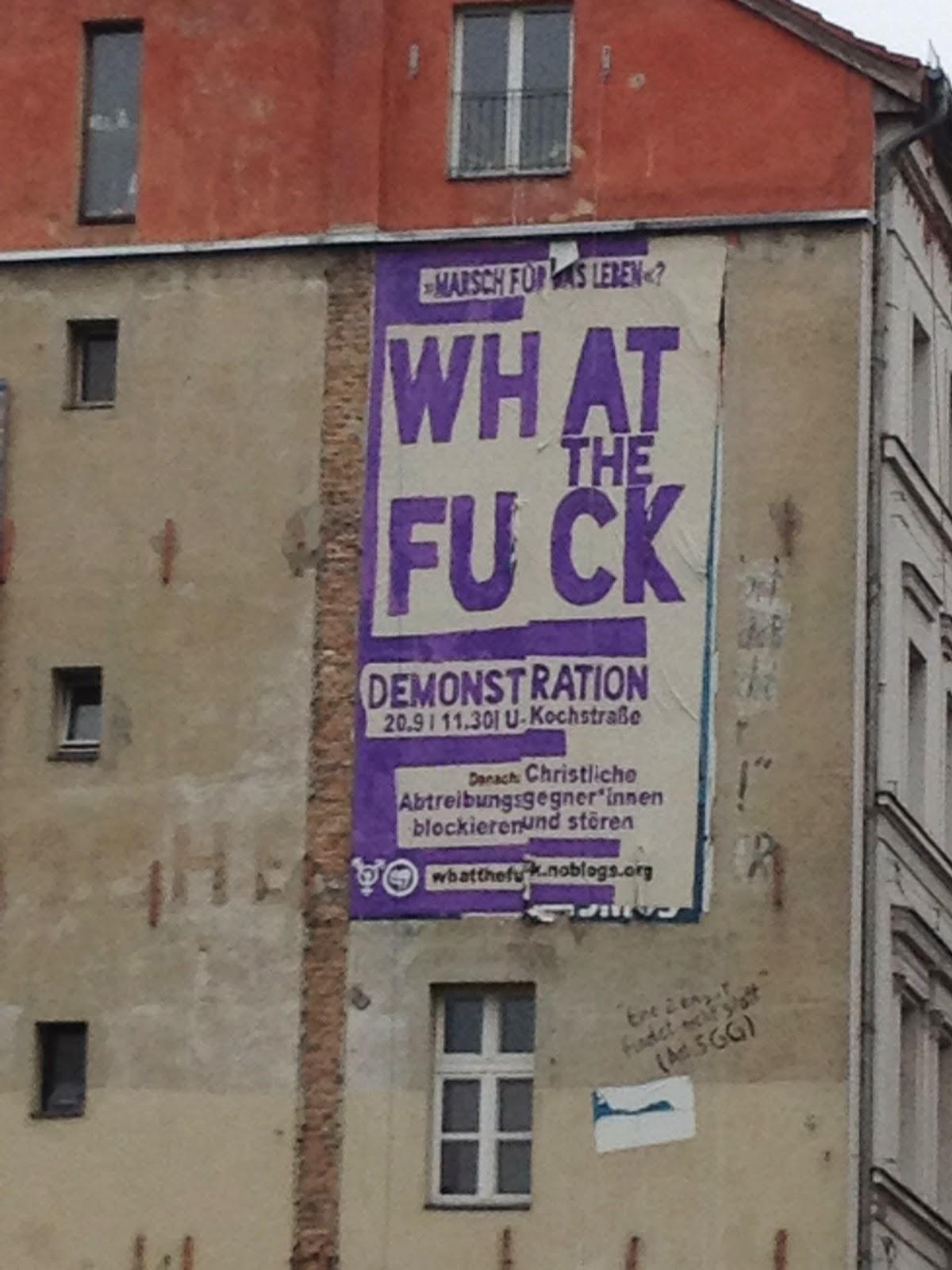 Christen, unsere Werbung kann wachsen!; Photo by Thomas Gerlach