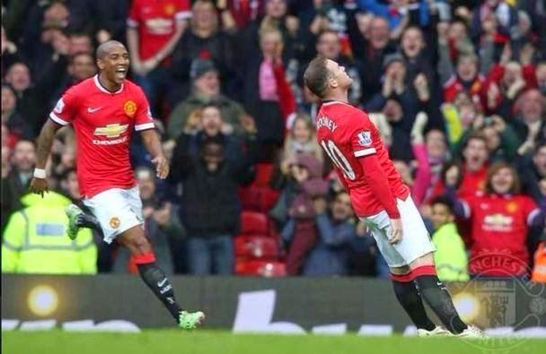 Meme Selebrasi Gol Unik Rooney