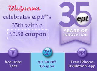 making ends meet walgreens exclusive e p t pregnancy test coupon printable. Black Bedroom Furniture Sets. Home Design Ideas