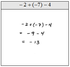 OpenAlgebra.com: Adding and Subtracting Integers