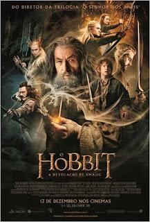 """Poster do filme """"O Hobbit: A Desolação de Smaug"""""""
