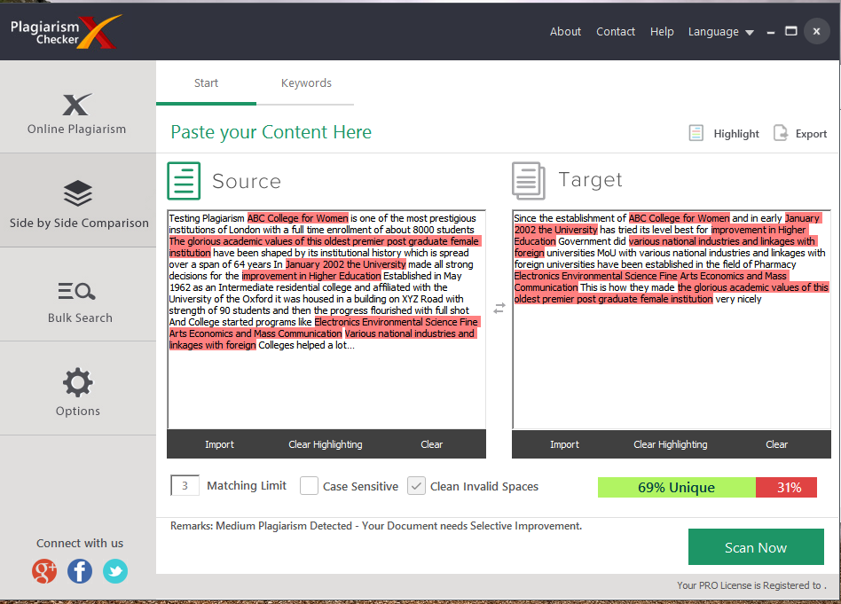 Free writing checker for plagiarism