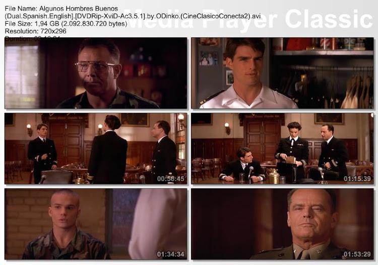 Algunos hombres buenos | 1992 | A Few Good Men | Capturas de pantalla