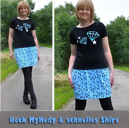 Rock MyHedy & schnelles Shirt
