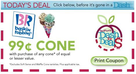 Baskin robbins coupon code