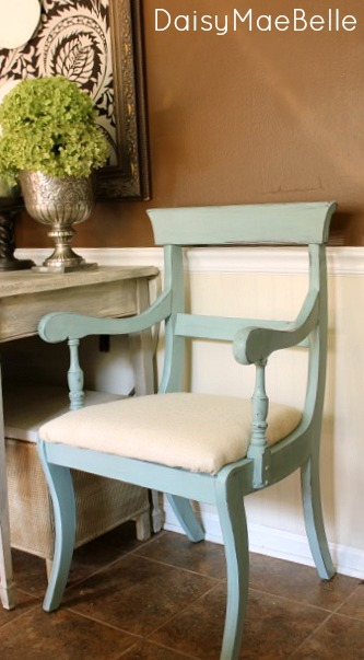Duck Egg Chair @ Daisy Mae Belle