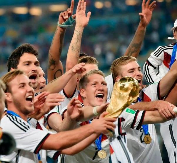 Alemania Campeon del Mundial de Brasil 2014
