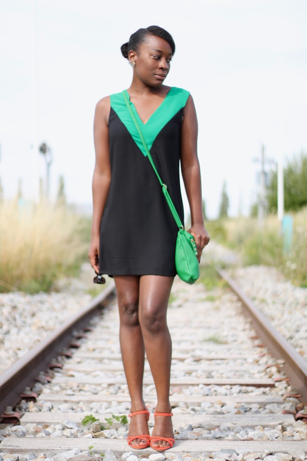 outfit chic-green outfit-hype-fashion blogger-